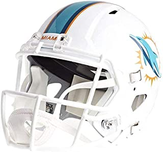 Riddell Miami Dolphins Officially Licensed Speed Full Size Replica Football Helmet