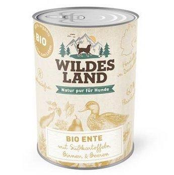 Wildes Land Hundefutter Nassfutter Bio Ente 400g (6 x 400g)