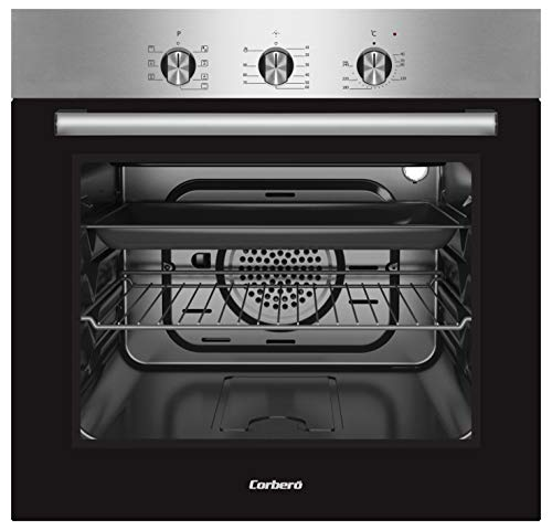 Corberó CCHS200MFX Horno Multifunción, Dimensiones 59,5 x 59,5 x 56,5, Capacidad 56L,...