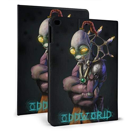 odd-world Glukkons Abe's Exoddus Soulstorm day one Mudokons Pop - Funda para iPad con soporte de doble pliegue, soporte de negocios, funda de protección completa