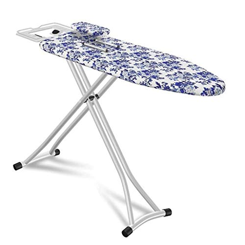 Z-Hawvii Z-W-DONG Metal Ironing Board, with Adjustable Iron Rest Multifunction Ironing Table Living Room Lounge Tailor Shop Ironing Shirt Tools Ironing Boards (Color : A5, Size : 110 * 30 * 75-85CM)
