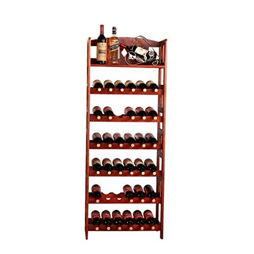 Botelleros de estilo clásico Portavasos de vino de bambú de Relaxdays 84 x 50 x 24 cm Portabotellas con copa de vino, Para 16 botellas y 12 copas de vino, Marrón natural Estante de almacenamiento de l