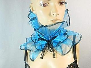Halskrause Kragen Clown Harlekin Kostüm Bib Karneval Manschette Pierrot Kostüm Schal