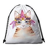 Lindo gato toalla de playa rosa gris redondo toalla de baño con bolsa de dibujos animados Animal Play Mat para niños niñas estrella fina manta
