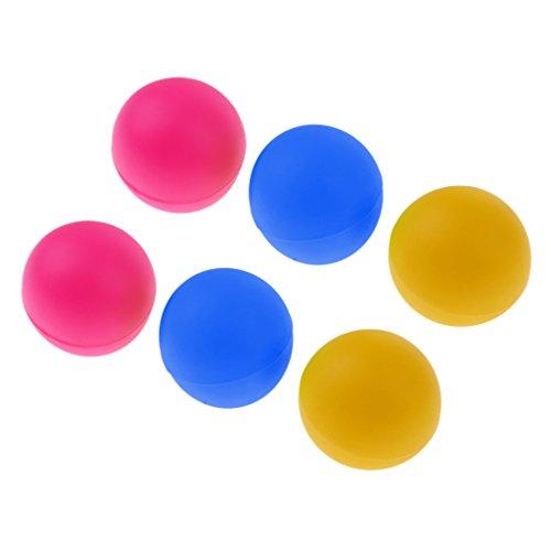 FITYLE 6 Piezas De Tenis De Mesa De Playa Bolas De Ping Pong De Cerveza Coloridas Bolas De Gato - Colorido B