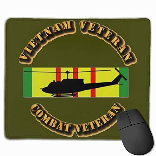 Spiel Maus Pad,Mausmatte,Mausunterlage,Gaming Mauspad,Vietnam Combat Veteran Air Assault Fliesen Untersetzer Matte Mäuse Mousepad Für Office Home Laptop Computer Pc