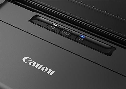 Canon Pixma iP110 mobiler Tintenstrahldrucker (9.600 x 2.400 dpi, USB, WLAN, Pixma Cloud-Link, Apple AirPrint) (ohne AKKU) 1 Schwarz