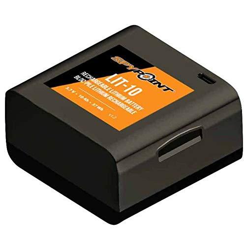 Spypoint LIT-10 Lithium-Akku inkl. AC-USB-Ladekabel/Wieder aufladbarer Zusatz-Akku für Wildkameras und Überwachungskameras/Wiederaufladbares Lithium-Batterie-Pack für Nachtsicht-Tierkameras