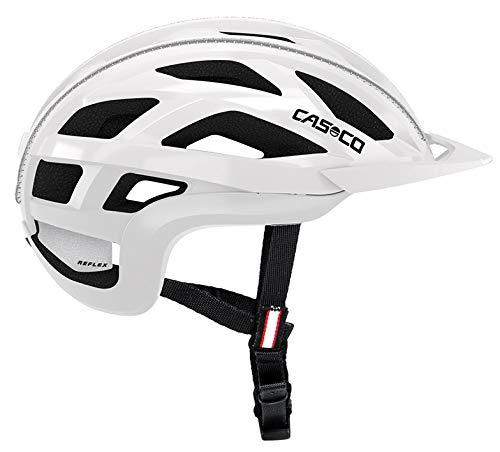 Casco Cuda 2 Fahrradhelm - Weiss-Glanz, Kopfumfang:52-54 cm