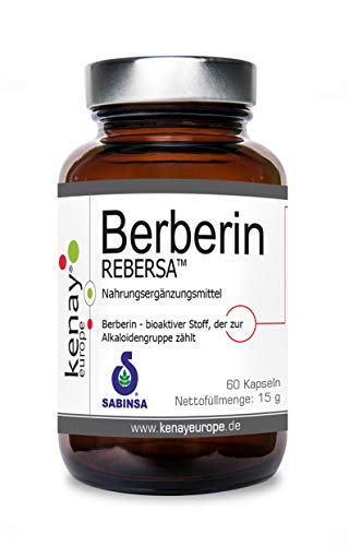 Berberina - Berberina cloridrato - Berberis aristata - 60 capsule - integratore alimentare - Kenay Europe