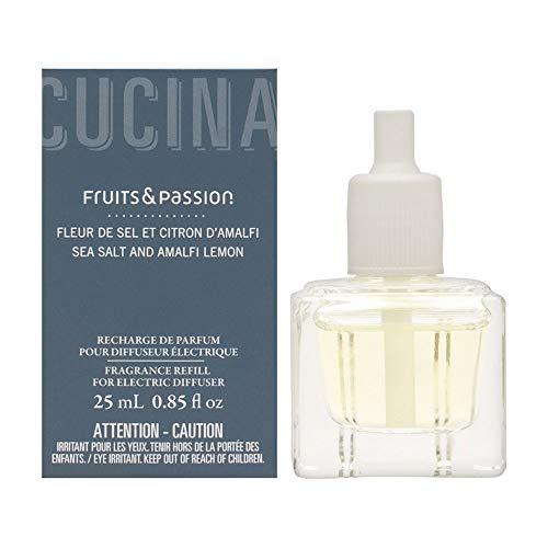Perfume Refill for Electric Fragrance Diffuser 25ML Sea Salt and Amalfi Lemon