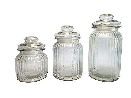 Set de 3 Bocaux en verre