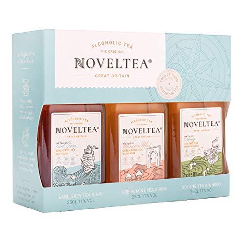 NOVELTEA: Probierset - Alkoholischer Tee - 3 x 25cl, 11%