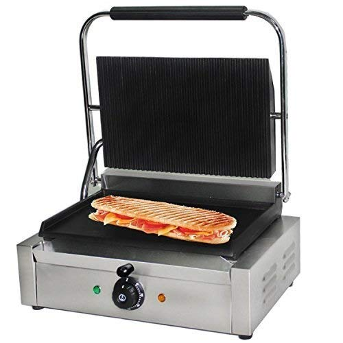 Grote Baking Press, Variable thermische controle Hot Plate, 2,2kW Macht Heavy Duty Flat Bottom Verwarming Plate.elektrische barbecue hsvbkwm