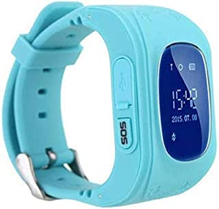 B M C Q50 Kids Smart Watch with Anti Lost GPS Tracker, Baby Watch, Kids SOS Calling Smart Watch Compatible with All Androi...