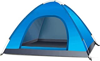 Tent خيمة الضوء الأزرق 3-4 الناس الشمس والمطر خيمة خيمة سماكة التلقائي للأسرة المشي لمسافات طويلة والتسلق