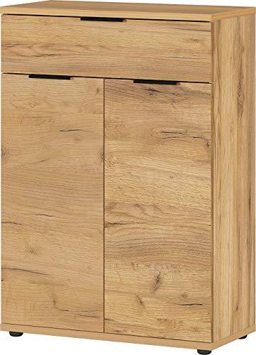 Germania Zapatero, Engineered Wood, Navarra-Roble NB, 75 x 108 x 37 cm