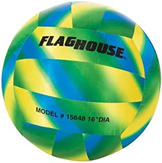 FlagHouse - Jumbo Volleyball - Water-Resistant - Soft - Sports Training - 16-Inch