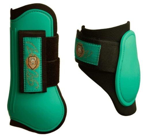 Hv Polo Gamaschen 4er Set mit Streichkappen WB smaragd