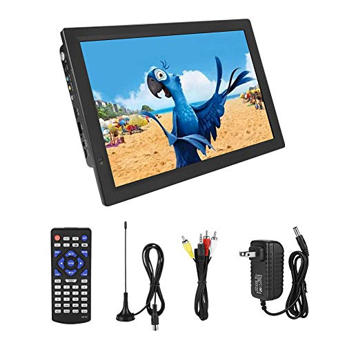 %9 OFF! LEADSTAR 14in Digital TV, Portable HD TV with USB Port, SD/MMC Card Slot, Built-in 1800mah R...