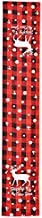 Plaid Table Runner Christmas Tablecloth Table Mats Christmas Decorations Christmas Red Checkered Linen Table Runner