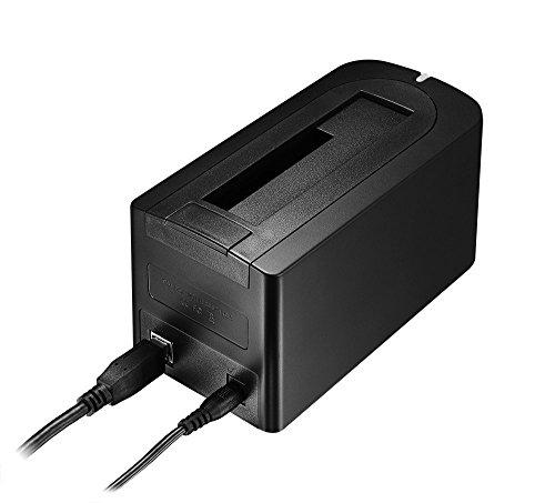 Digimate® DM-11US USB 3.0 HDD Dockingstation für 2,5 / 3,5 Zoll SSD HDD SATA I/II/III für PC / Notebook / Mac, SATA3 bis zu 4 TB