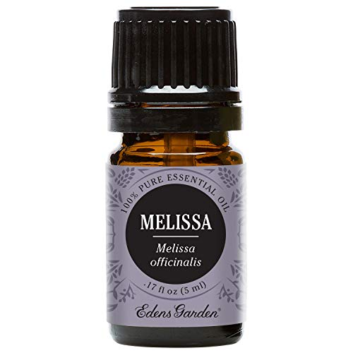 Edens Garden Melissa Essential Oil, 100% Pure Therapeutic Grade (Highest Quality Aromatherapy Oils- Inflammation &Amp; Stress), 5 Ml