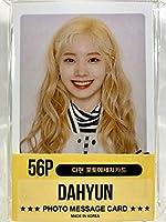 DAHYUN ダヒョン - TWICE トゥワイス グッズ / フォト メッセージカード 56枚 (ミニ ポストカード 56枚) セット - Photo Message Card 56pcs (Mini Post Card 56pcs) [TradePlace K-POP 韓国製]