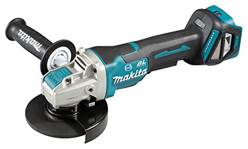 Makita DGA519Z Miniamoladora BL 18V LXT 125 mm X-Lock/Solo, sin batería y sin Cargador, 50 W, 18 V, Negro, One size