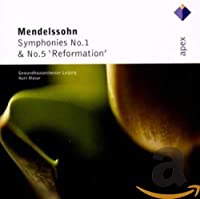 Mendelssohn: Sym Nos 1 & 5