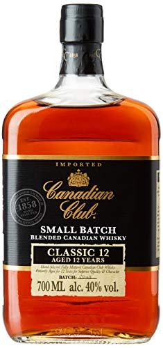 Canadian Club Classic, Whisky 12 años, 700 ml