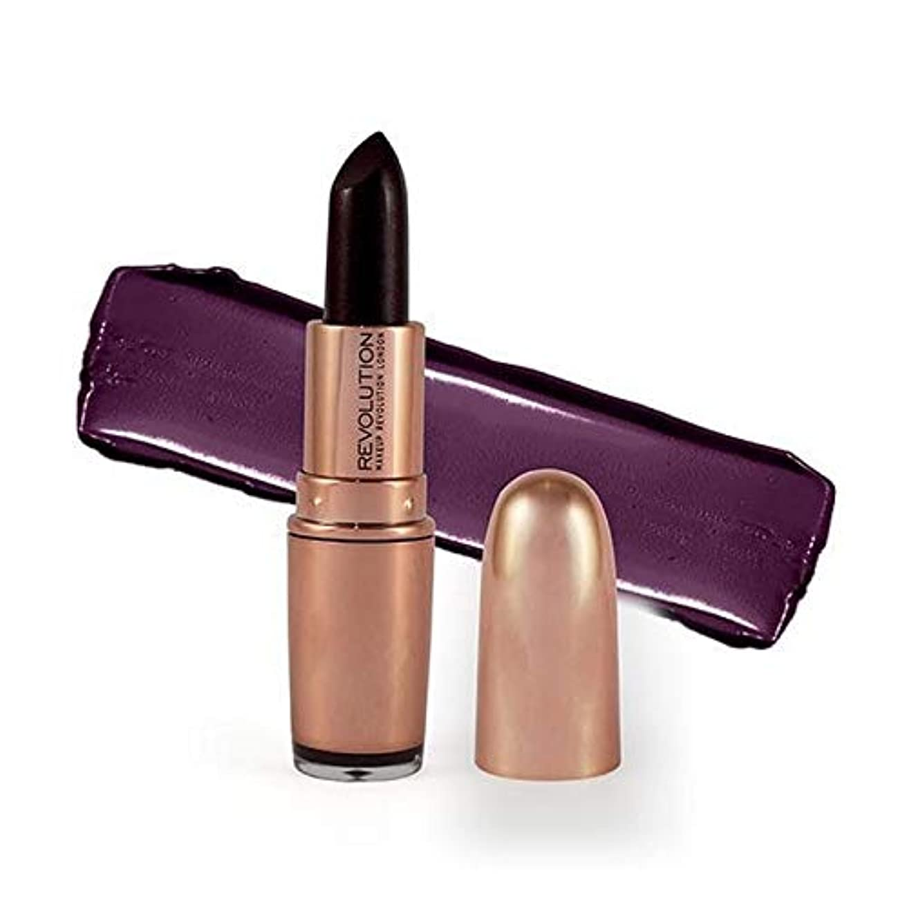 メロディアスフィット速い[Revolution ] 革命は、金口紅ダイヤモンドライフ3.2グラムをバラ - Revolution Rose Gold Lipstick Diamond Life 3.2G [並行輸入品]