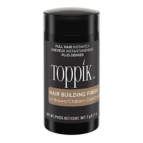 Toppik Hair Building Fibers, Light Brown, 3g