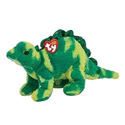 6. TY Beanie Baby Spikey the Dinosaur