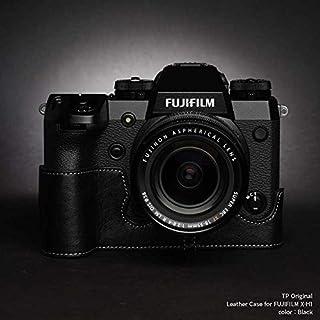 TP Original Leather Camera Body Case for FUJIFILM X-H1 Black ブラック フジフイルム 本革 カメラケース レザーケース おしゃれ ミラーレス デジタルカメラ ケース 速写ケース EZ Series 底面開閉 バッテリー交換可能 フジフィルム 富士フイルム TB06XH1-BK (Black)
