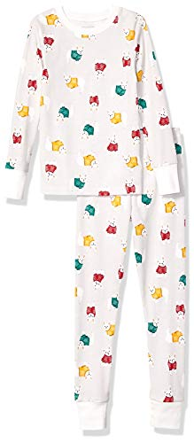Amazon Essentials Long-Sleeve Tight-fit 2-Piece Pajama Set Unisex niños