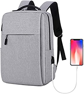 Laptop Backpack, Travel Computer Bag,Business Anti Theft Backpack with USB Charging Port,Water Resistant College School Co...