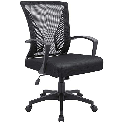 Victone Lumbar Support Mesh Back Office Chair