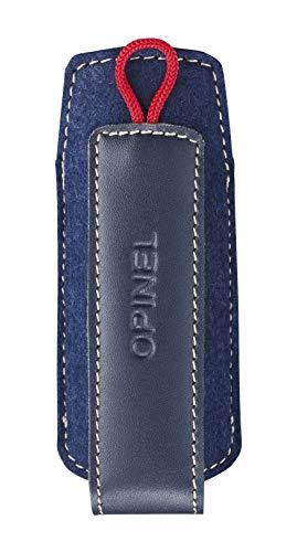 OPINEL - Fourreau - Étui OPINEL - Étui Couteau OPINEL Adapté aux Couteaux N°06 à N°08 & Effilé N°08 - Étui Couteau Synthétique - Bleu & Rouge