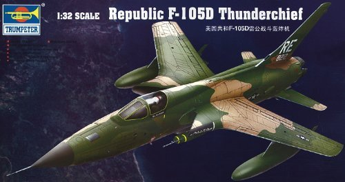 Trumpeter 1/32 Republic F-105D Thunderchief #02201 by Trumpeter