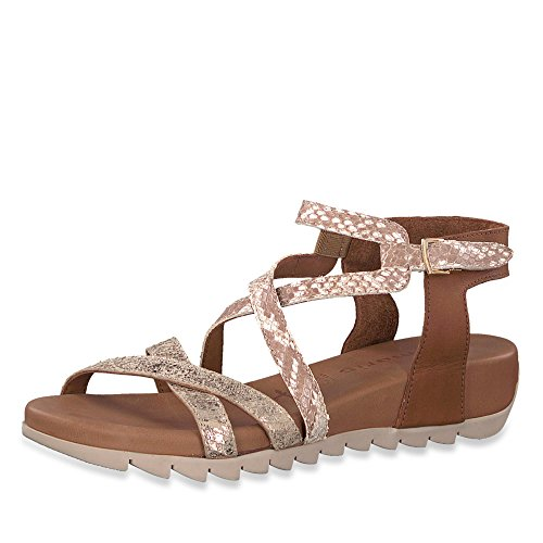 Tamaris dames sandalen 1185 1-1-28708-20 392 bruin 403334