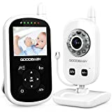 Video Baby Monitor with Camera and Audio - Auto Night Vision,Two-Way Talk, Temperature Monitor, VOX...
