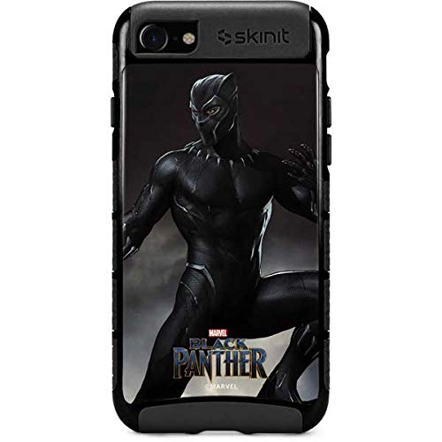 Skinit Cargo Phone Case Compatible with iPhone SE - Officially Licensed Marvel Black Panther Ready for Battle Design