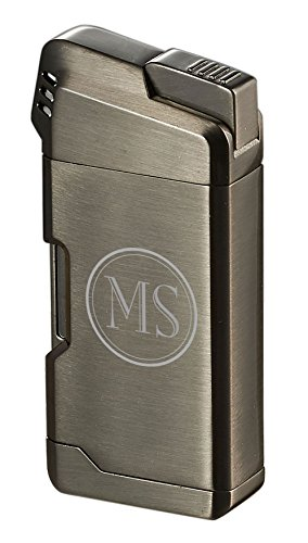 Personalized Visol Epirus Soft Flame Pipe Lighter With Free 2 Initial Engraving...