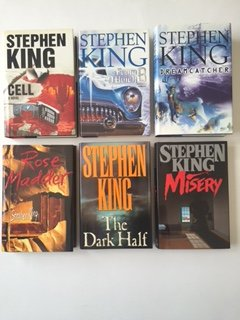 Stephen King (Set of 6) Cell; From a Buick 8; Dream Catcher; Rose Madder; Dark Half