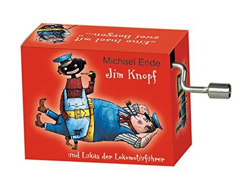 Fridolin Spieluhr / Music Box 'Jim Knopf - das Lummerlandlied', rot