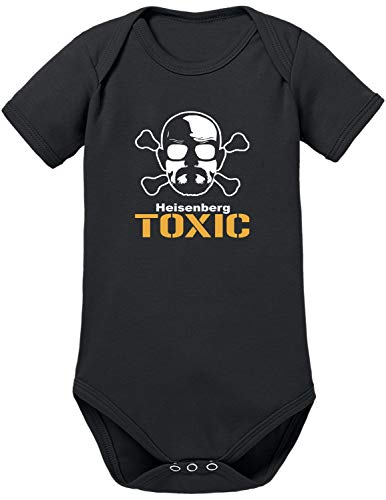 TShirt-People Heisenberg Toxic - Body para bebé Negro 74