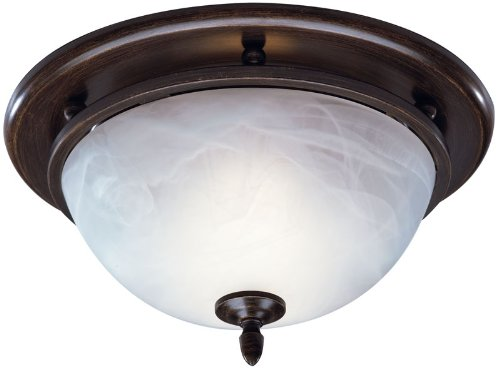 Broan 754RB Decorative Ventilation Fan and Light,70 CFM 3.5 Sones, Oil Rubbed Bronze
