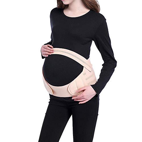 Viedouce Cinturón de Maternidad,Faja de Embarazo,Apoyo Durante Embarazo,Banda Abdomen/Cintura/Espalda/Pélvico/Vientre,Respirable Ajustable Pélvica Faja Soporte Posterior(M)