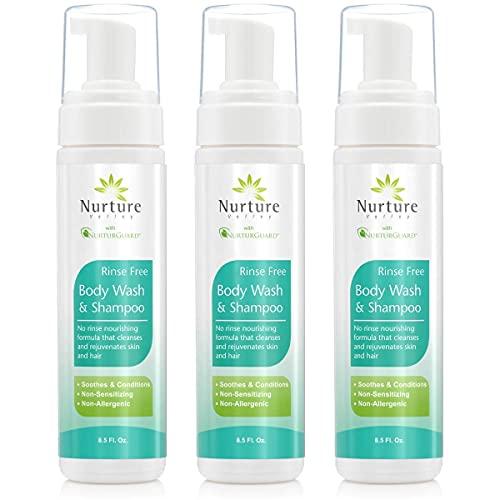Rinse Free Body Wash & Shampoo...